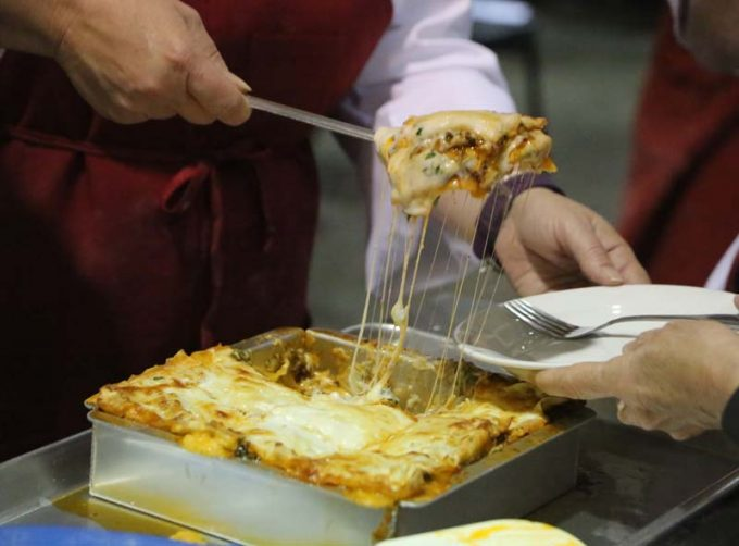 Surfas 6-Week Professional Cooking Classes (Level 2) + Team Cooking Competition lasagna