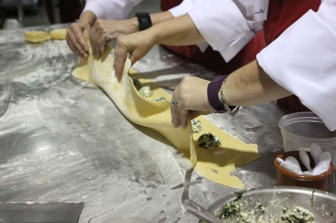 Surfas 6-Week Professional Cooking Classes (Level 2) + Team Cooking Competition ravioli