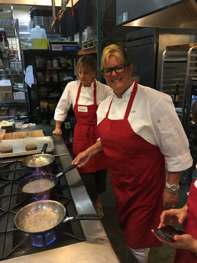 Surfas 6-Week Professional Cooking Classes (Level 2) + Team Cooking Competition flambe
