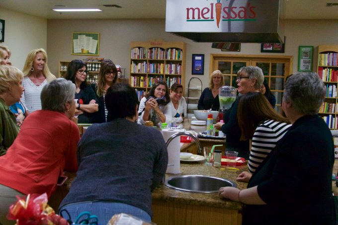 LES DAMES D' ESCOFFIER FOOD STYLING LUNCHEON AT MELISSA'S PRODUCE