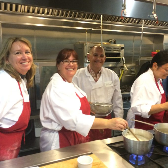 Surfas Professional Cooking Classes - Series One having fun