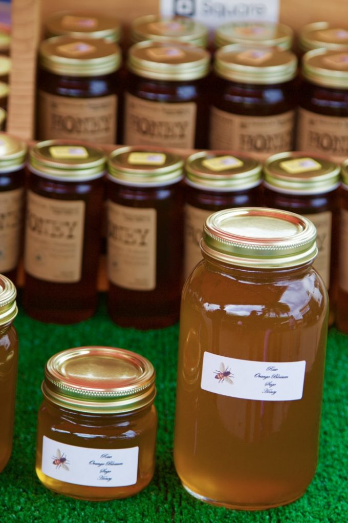 San Juan Capistrano Certified Farmers Market Queen Bee Honey