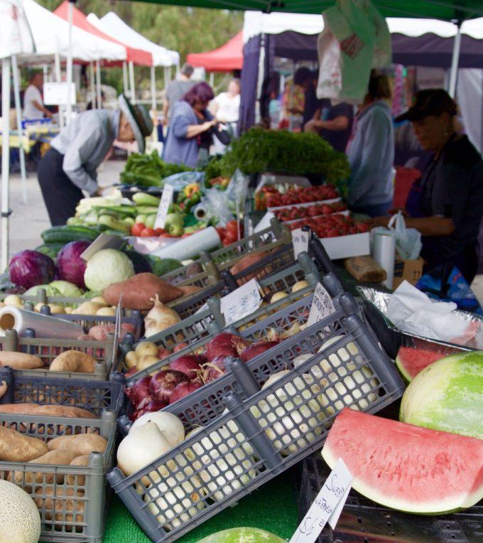 San Juan Capistrano Certified Farmers Market veggies
