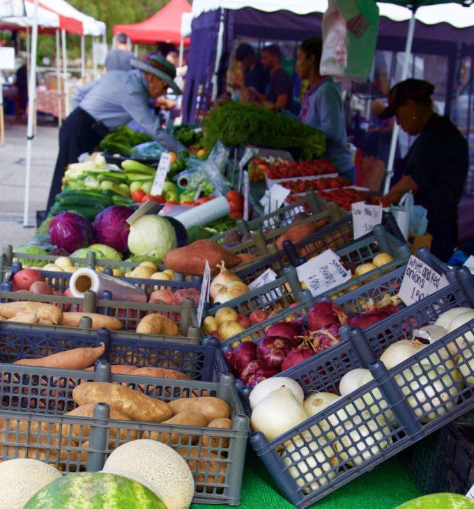 San Juan Capistrano Certified Farmers Market shopping