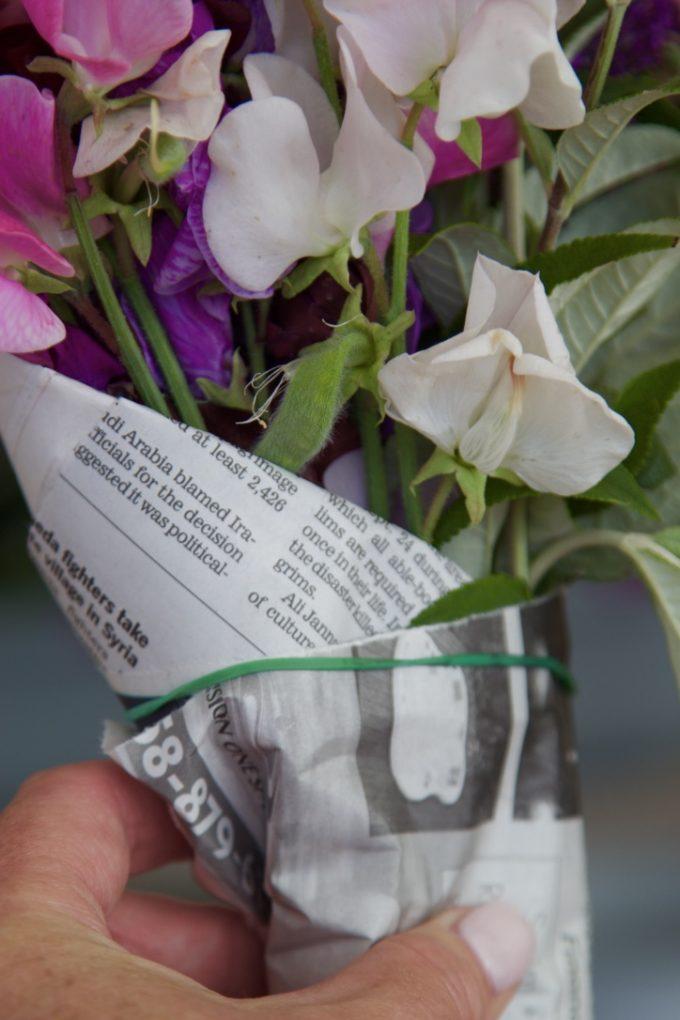 San Juan Capistrano Certified Farmers Market flowers