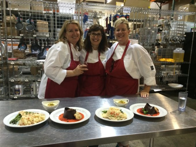 Surfas Professional Cooking Classes -Series One Team 4 wins