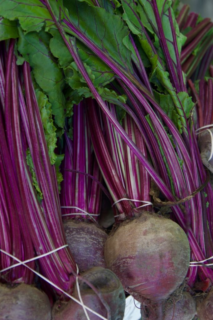 San Juan Capistrano Certified Farmers Market beets
