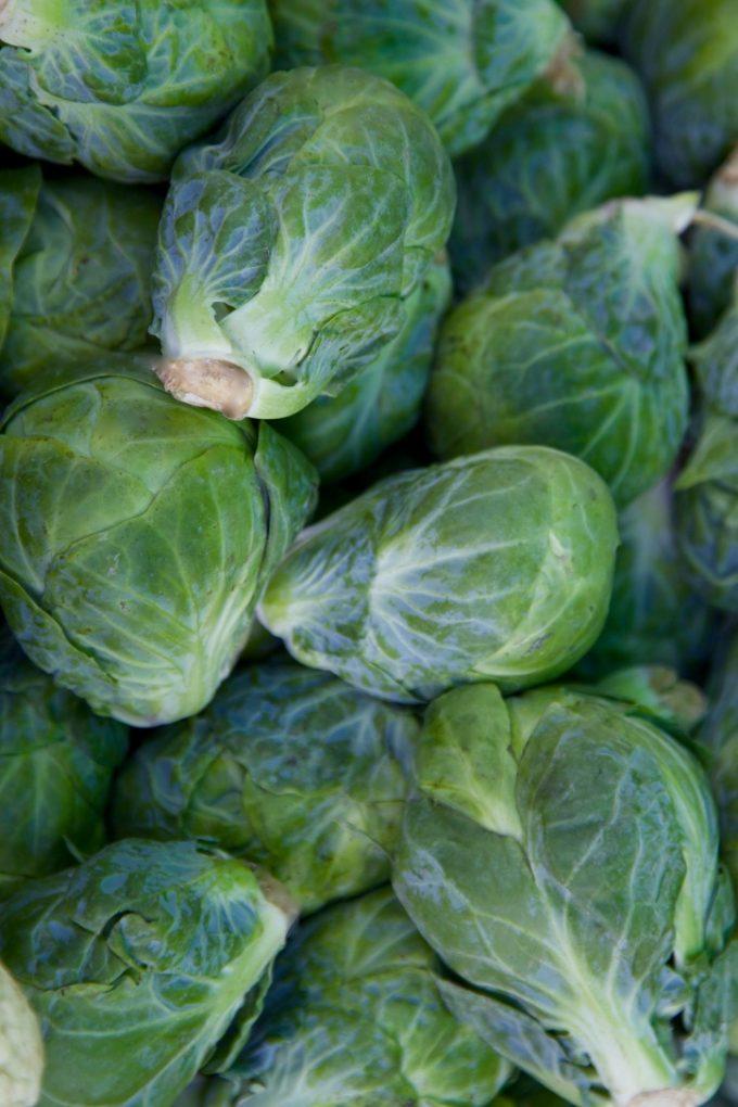 San Juan Capistrano Certified Farmers Market brussel sprouts