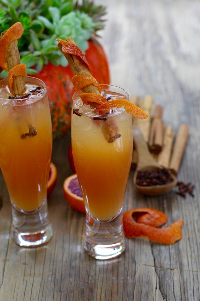 """Fireball"" Cinnamon Apple Cider Fall Cocktails two"