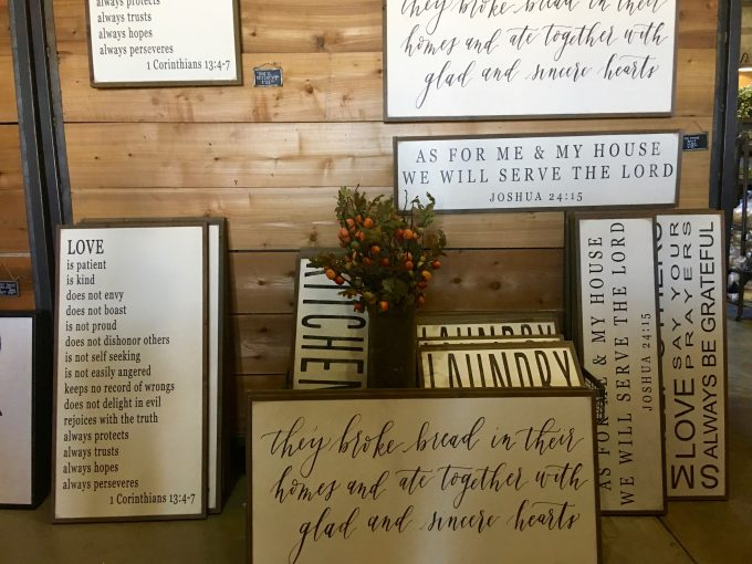 Magnolia Market At The Silos | Chip & Joanna Gaines ~ HGTV Fixer Upper more signs
