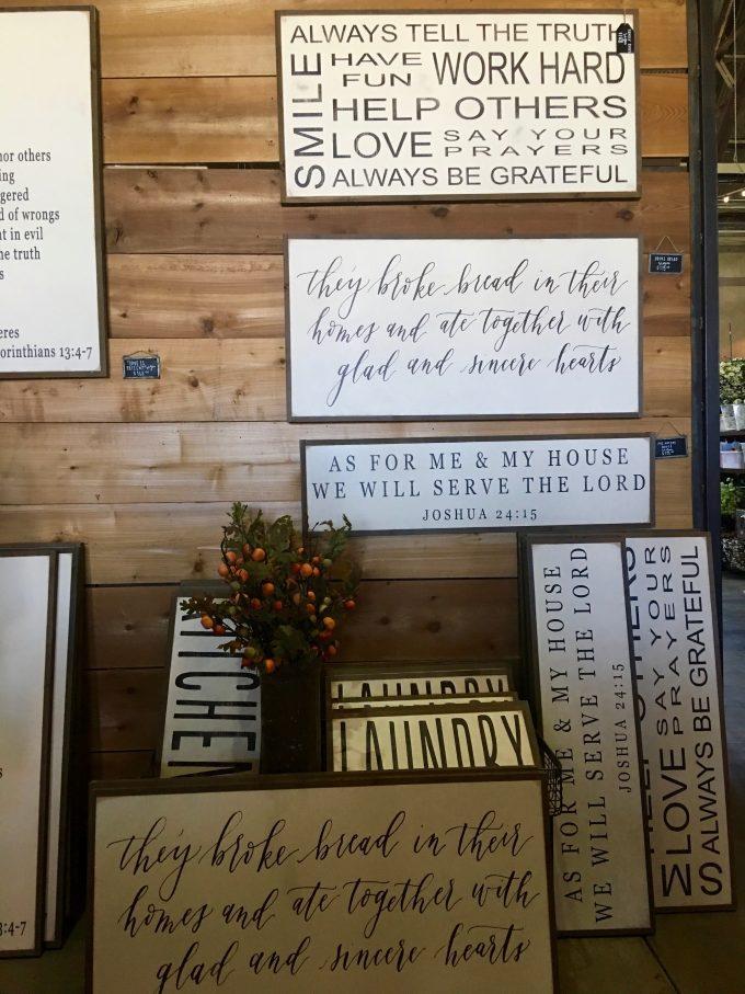 Magnolia Market At The Silos | Chip & Joanna Gaines ~ HGTV Fixer Upper signs