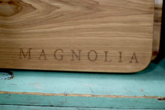 Magnolia Market At The Silos | Chip & Joanna Gaines ~ HGTV Fixer Upper Magnolia cutting board