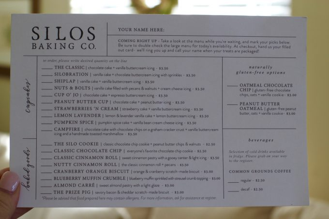Magnolia Market At The Silos Chip Joanna Gaines Hgtv Fixer Upper Silo Menu