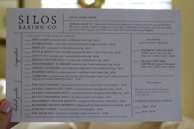 Magnolia Market At The Silos | Chip & Joanna Gaines ~ HGTV Fixer Upper Silo Menu