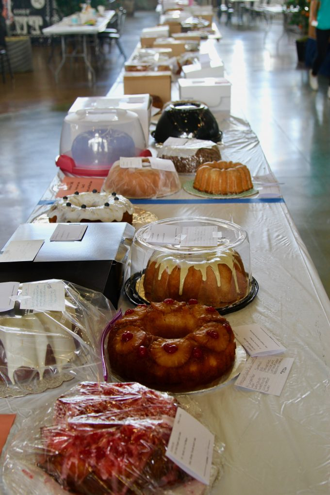The final tasting count: 18 cupcakes, 6 cake pops, 6 specialty cakes. Only one or two bites each, but that is