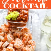A recipe for shrimp cocktail